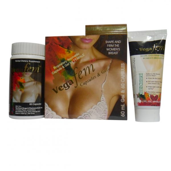 Breast Enhancement Capsules And Gel - VEGA FEM Capsule & Gel