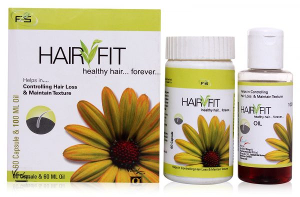 Hair Oil And Capsules - Hair Fit