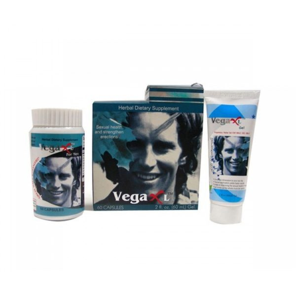 Male Organ Enlargement Capsules And Gel - VEGA XL Capsule & Gel