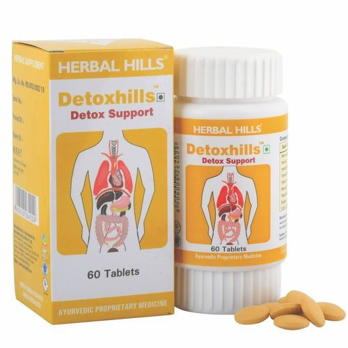 Natural Detox Support Herbal Supplement